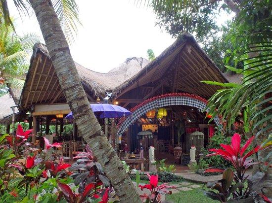 Swasti Eco Cottages: Restaurant