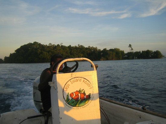 Uepi Island Resort: Going fishing