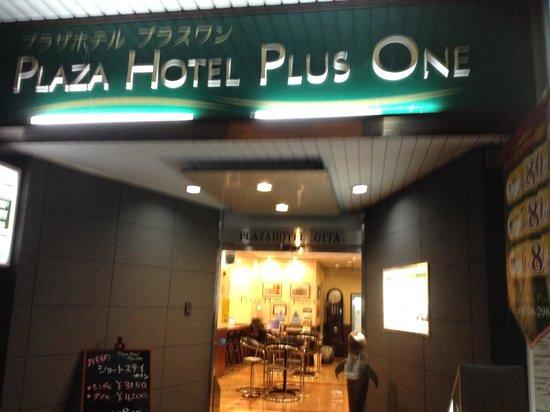 Plaza Hotel Plus One : 入口