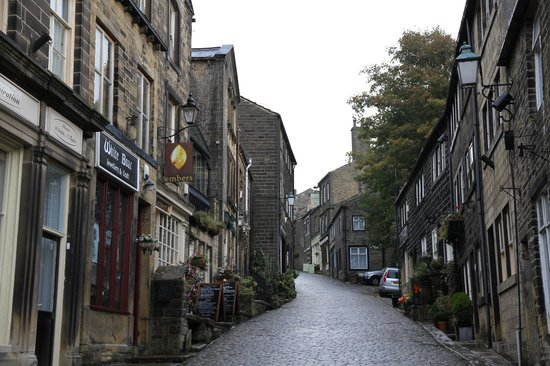 The Old Registry Haworth: Up the street from the Old Registry
