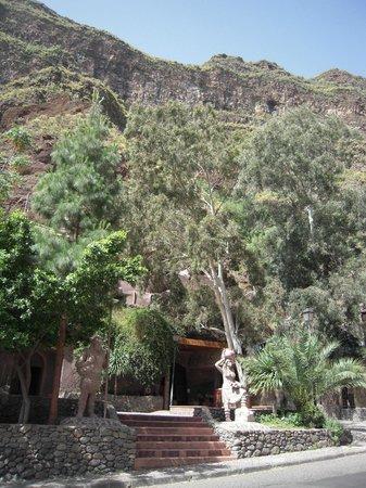 Barranco de Guayadeque : дом-пещера