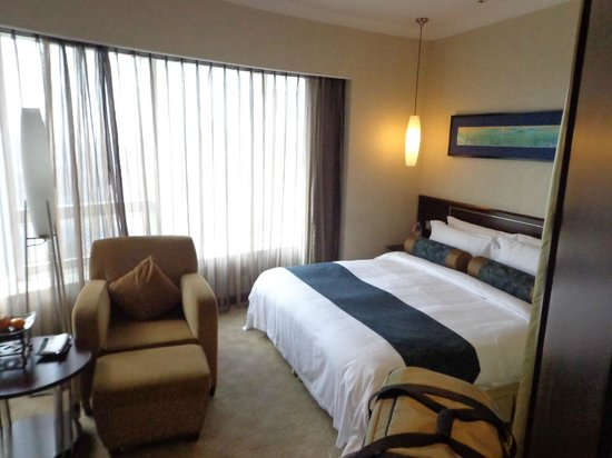 Grand Trustel Purple Mountain Hotel: spacious room, only there was too small closet