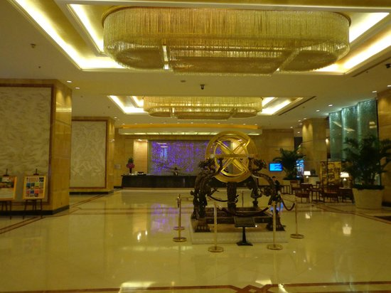 Grand Trustel Purple Mountain Hotel: main lobby hall