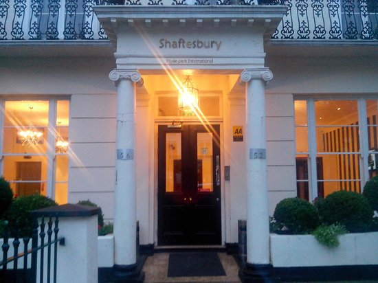 Shaftesbury Hyde Park International Hotel London Tripadvisor
