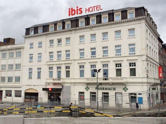 Ibis Charleroi Centre Gare: Face avant