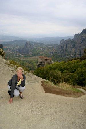 Spiros Taxi & Tours: Meteora monastaries.