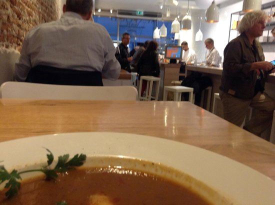The Seafood Bar : Lobster Soup