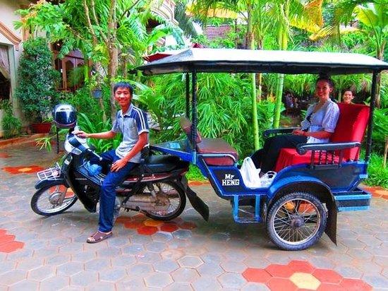 Heng TukTuk driver