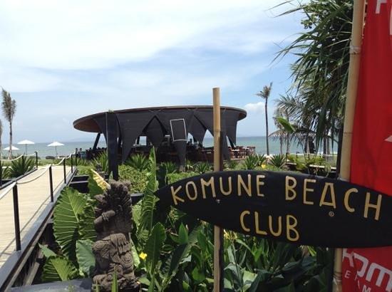 Komune Resort, Keramas Beach Bali: komune bar