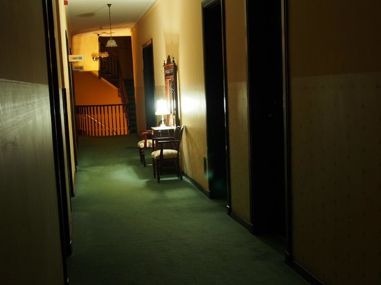 Shenanigans at The Imperial: View in Hallway at night