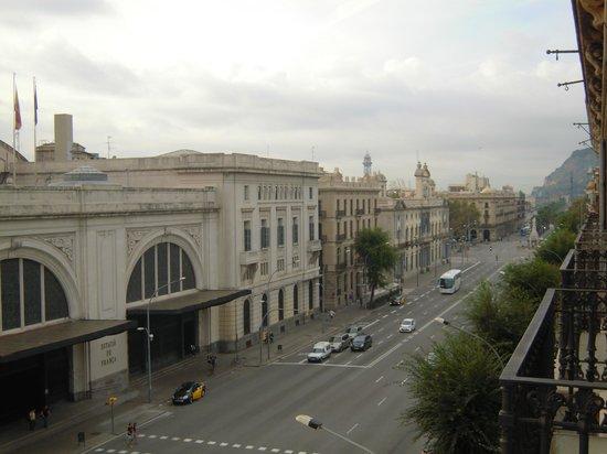 Hostal Nuevo Colon: Panorama dal balconcino