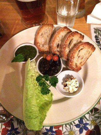 Nick's Swiss Italian Restaurant: Organic trio