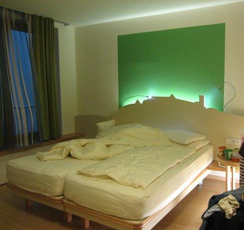 City Hotel Ljubljana: Часть номера