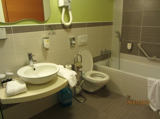 City Hotel Ljubljana: Ванная