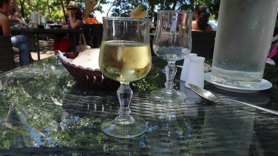 Kanua Tera Ecolodge: le verre de vin blanc
