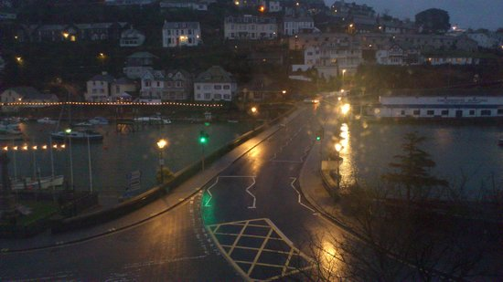 Bridgeside Guest House: The view we woke to