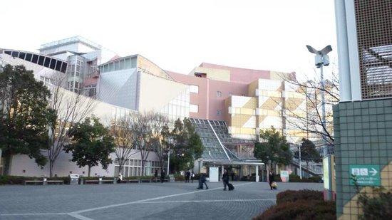 National Olympics Memorial Youth Center: 外観