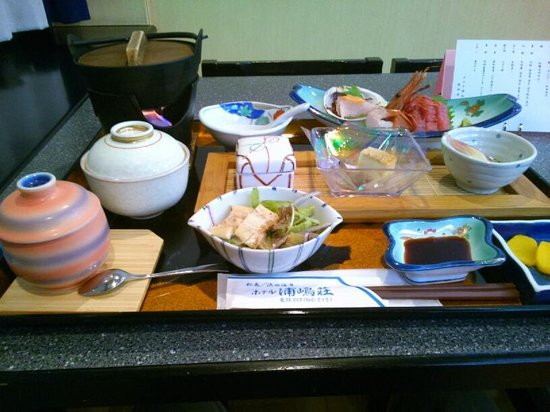 Urashimaso: 夕食