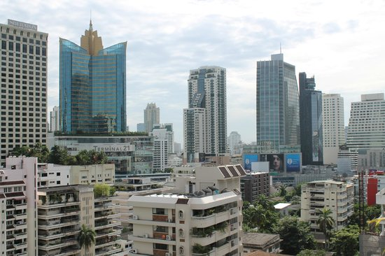 Centre Point Sukhumvit 10: View from room's balcony