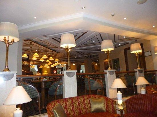 Moscow Marriott Royal Aurora Hotel : Lobby bar