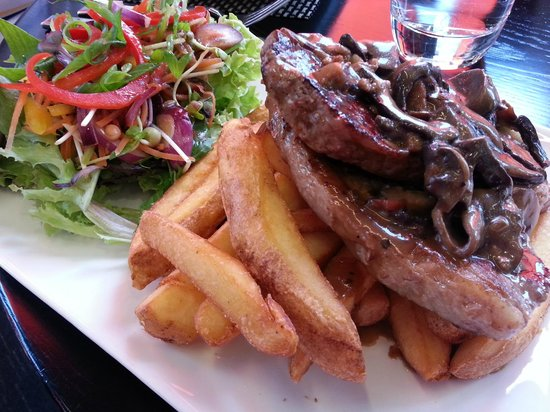 The Saucy Chef on St Andrew: Steak