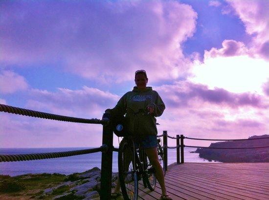 Peniche Surf Lodge: bike riding