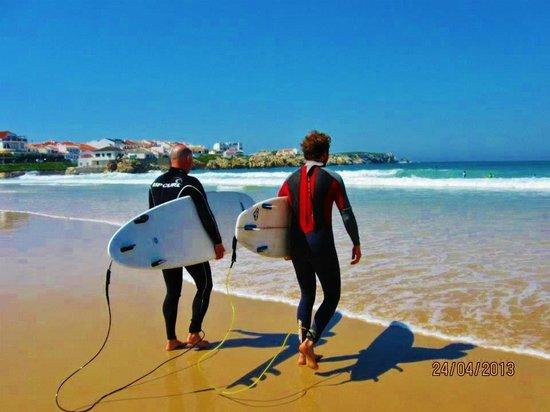Peniche Surf Lodge: Surfing