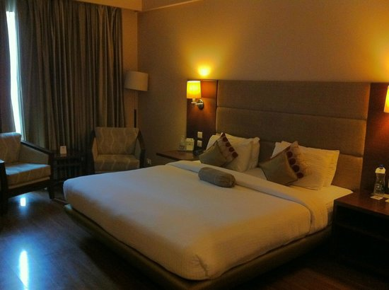 Country Inn & Suites By Carlson-Amritsar, Queens Road: A view of the bedroom