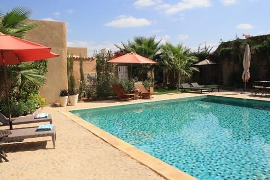 autour de la piscine - Photo de Riad El Koudia, Agadir - TripAdvisor
