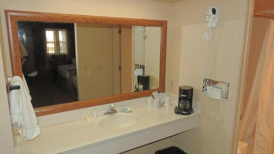 BEST WESTERN PLUS King's Inn & Suites : Ванная