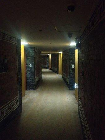 Hotel Commodore Busan: 廊下