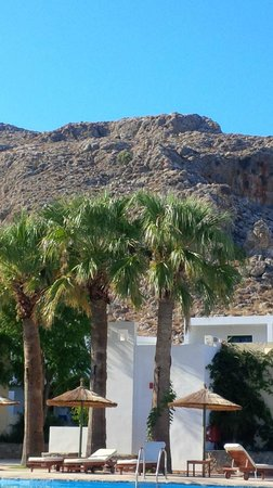 Lindos Gardens Resort Complex: example of the great setting