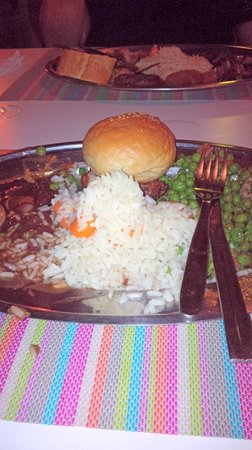 Lindos Gardens Resort Complex: example of the poor food