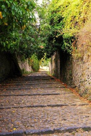 Levanto beach: Auf dem Weg zum Castello