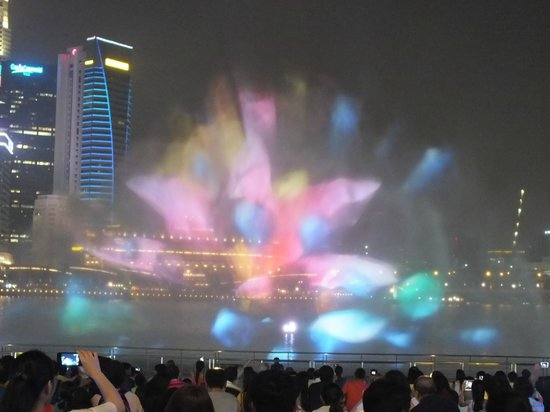 Spectra A Light And Water Show Wonder Full Light And Water Show Marina