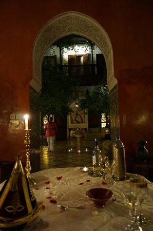 Riad Samsara: Dinner in riad - amazing!