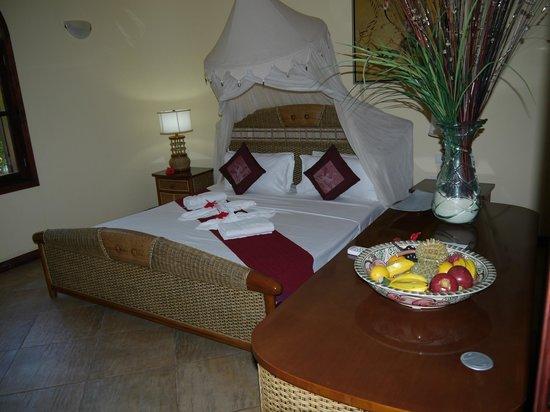 Castello Beach Hotel : Schlaufraum Family-Suite