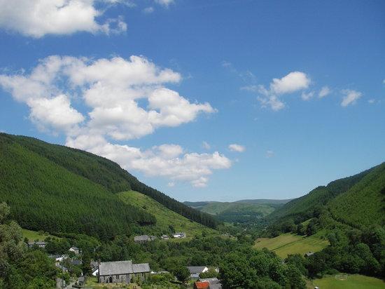 Braich Goch Bunkhouse and Inn: View from the bunkhouse