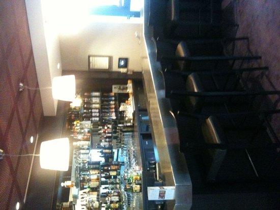 Mercure Reims Centre Cathedrale: Bar à l'entrée du restaurant