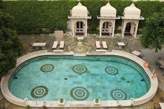Shiv Niwas Palace: Piscina hotel