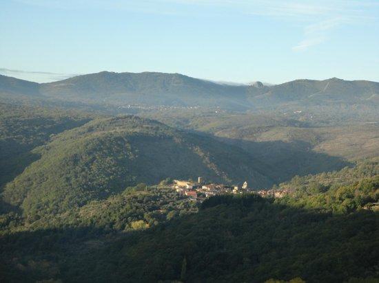 Hotel Rural Porta Coeli: Vista del pico de Francia