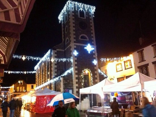 The Kings Arms Hotel: Xmas Lights