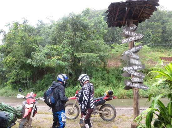 Thai Bike Tours : A long way from anywhere