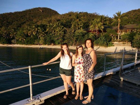 Fitzroy Island Resort: вид с причала