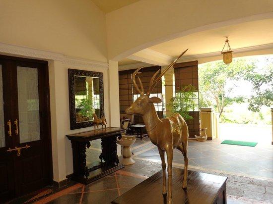 Irai Safari Retreat: Foyer.