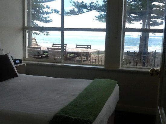 Seawall Apartments: bedroom view