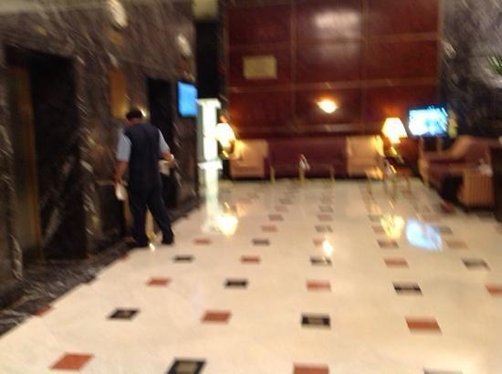 Makkah Hilton Hotel: lobby