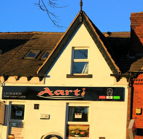 Aarti Restaurant: From the outside