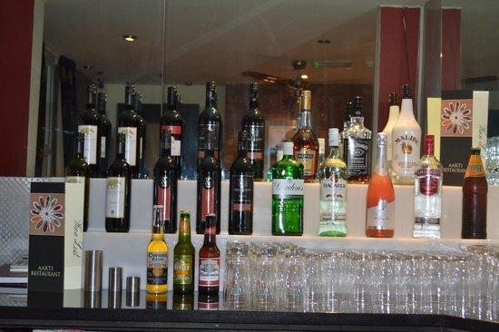 Aarti Restaurant : Bar