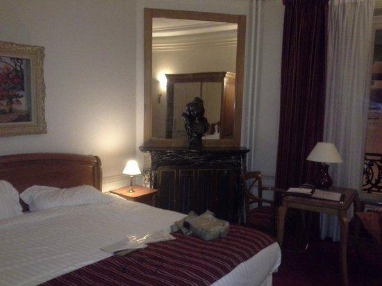 Hotel Langlois : Номер